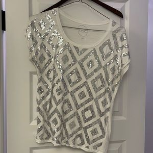 International Concepts Sequinned Top